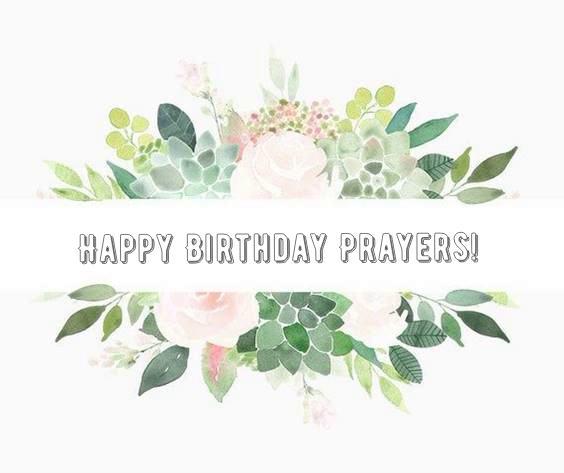 birthday prayer wishes