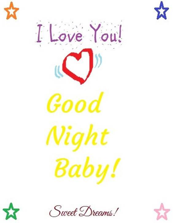 good night to all images