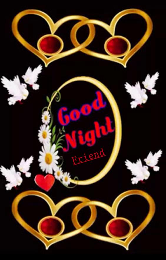 goodnight greetings for friends