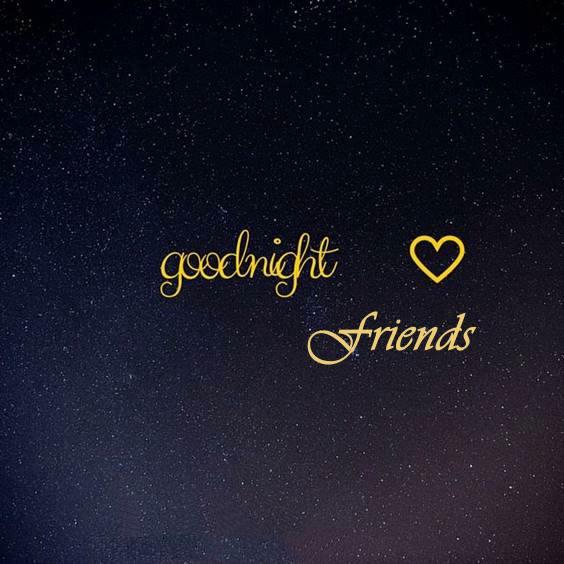 goodnight my best friend