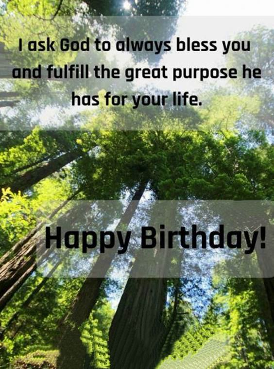 happy birthday stay blessed