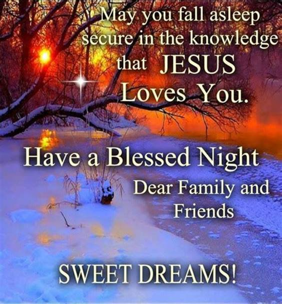 good night prayer quotes for family and friends