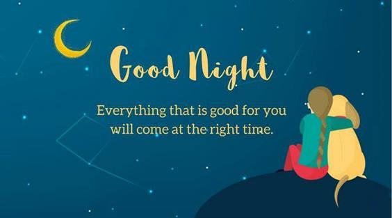 good night quotes to friends and family