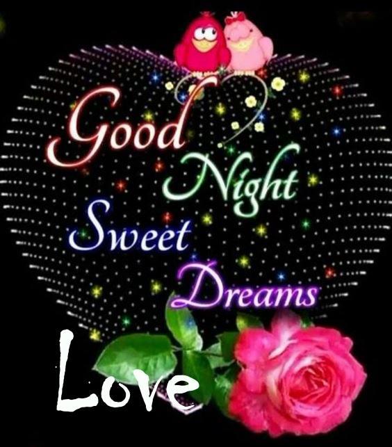 romantic good night
